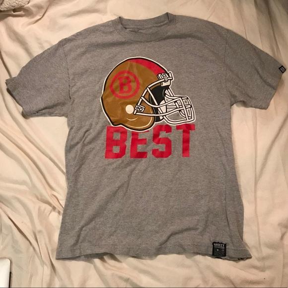 Legion Best Football T Shirt Short Sleeve Gray